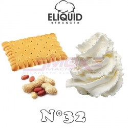 Sweet Cream n°32 - Eliquid France