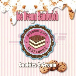 Cookies & Cream - Ice Dream Sandwich
