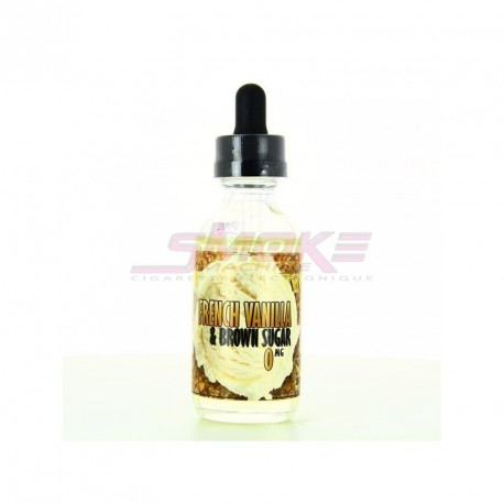 French Vanilla & Brown Sugar - Eastern Vapor 50ml