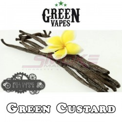 Full Vaping Green's Custard - Green Vapes