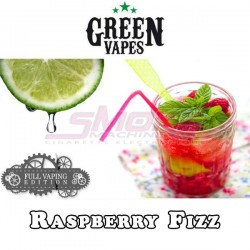 Full Vaping Raspberry Fizz - Green Vapes