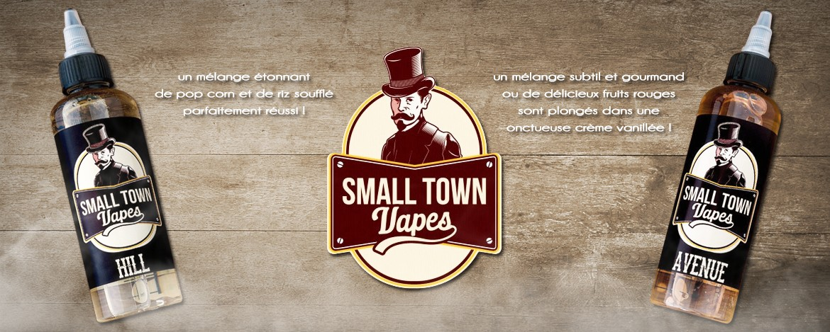 Liquide Small Town Vapes, disponible chez Smoke Machine !